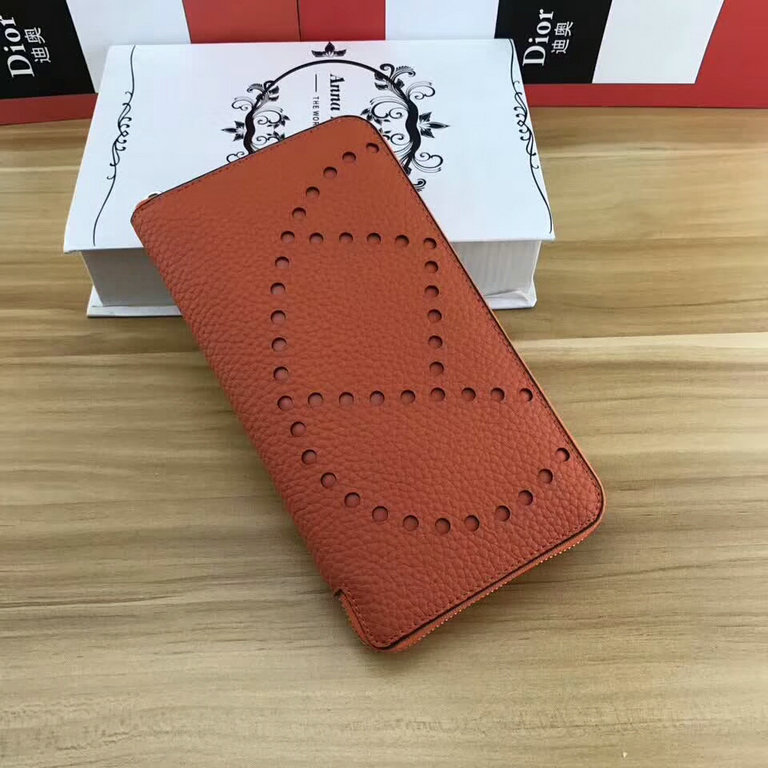 Wholesale Cheap Hermes Leather Wallets Sale