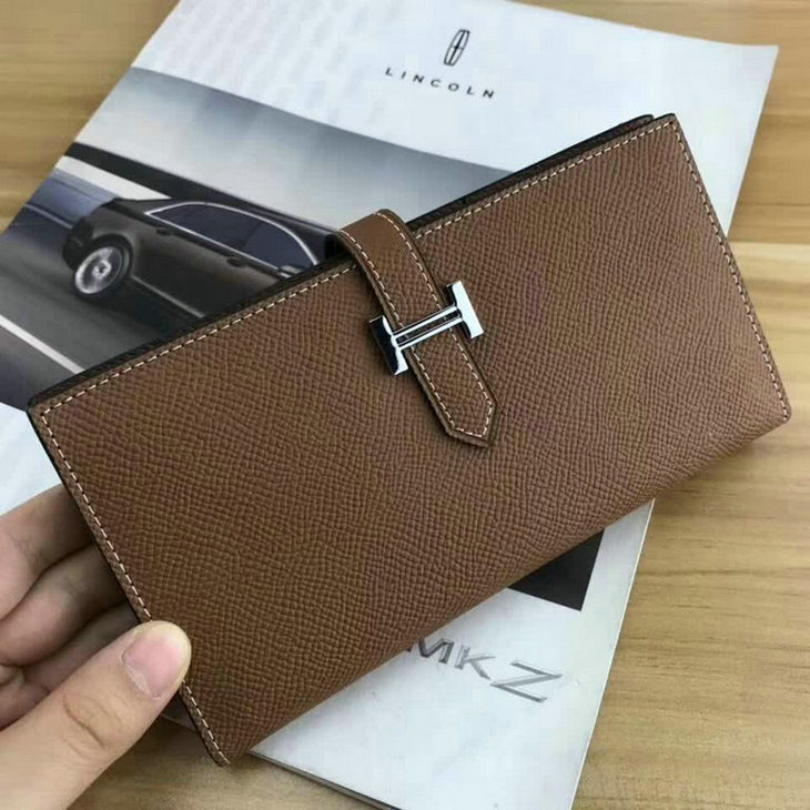 Wholesale AAA Replica Hermes Leather Wallets Sale