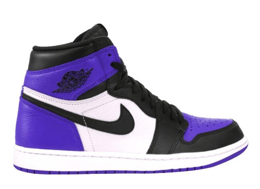 Air Jordan 1 Retro High OG Court Purple 555088-501