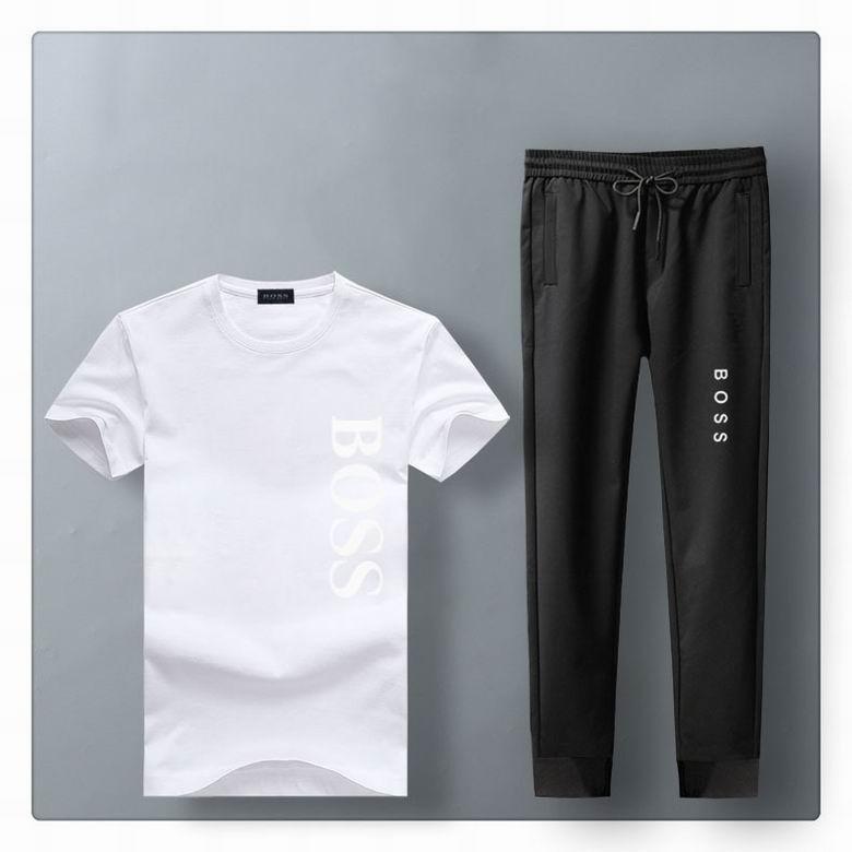 Wholesale Cheap BOSS Men's Short Sleeve Tracksuits for sale