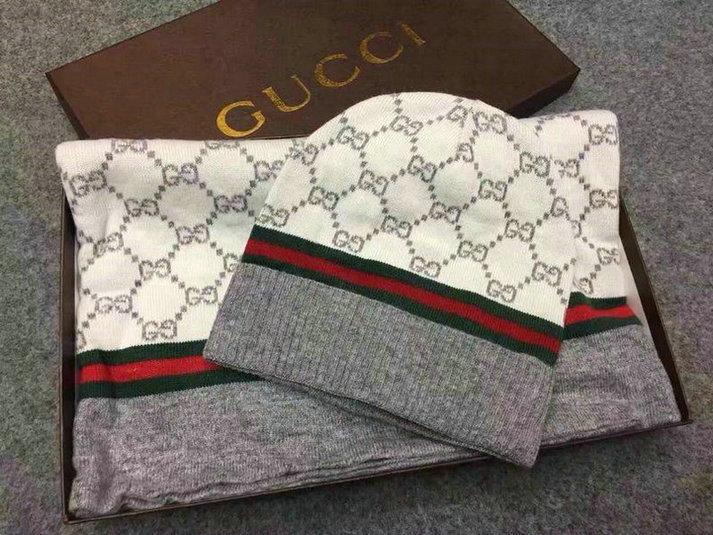 Wholesale Fashion GUCCI Women Hat Set-029