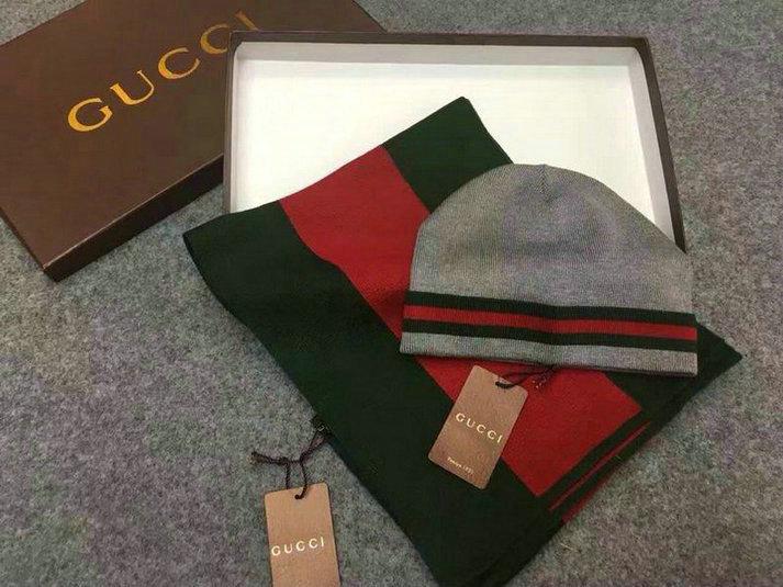 Wholesale Fashion GUCCI Women Hat Set-033