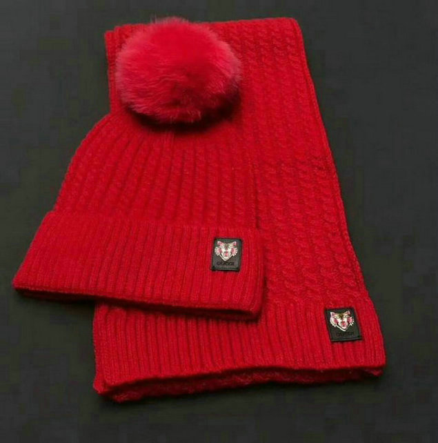 Wholesale Fashion GUCCI Women Hat Set-003