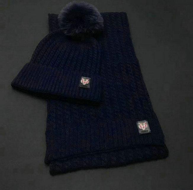 Wholesale Fashion GUCCI Women Hat Set-004
