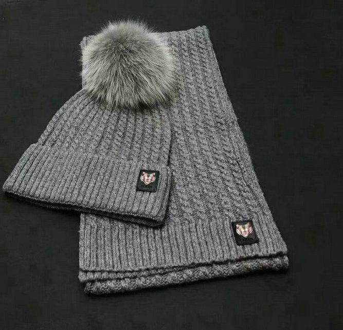 Wholesale Fashion GUCCI Women Hat Set-006