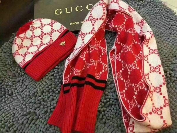Wholesale Fashion GUCCI Women Hat Set-012
