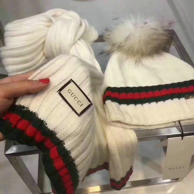 Wholesale Fashion GUCCI Women Hat Set-014