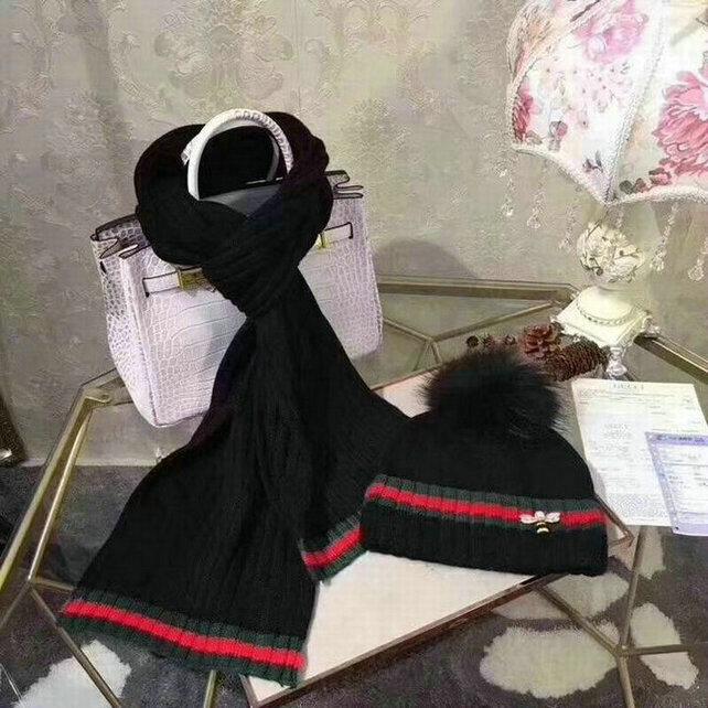Wholesale Fashion GUCCI Women Hat Set-018
