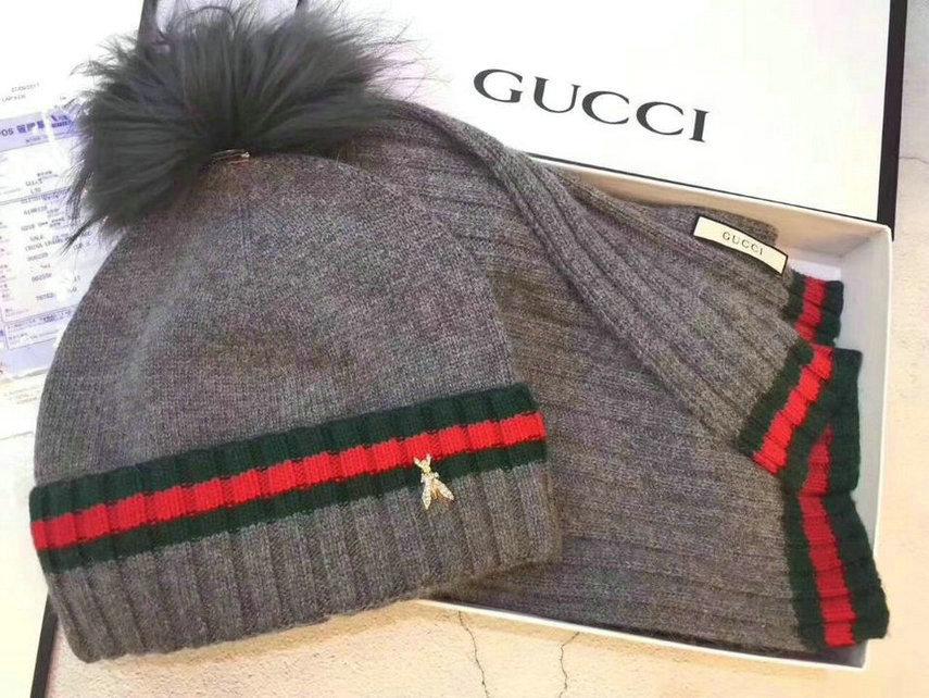 Wholesale Fashion GUCCI Women Hat Set-022