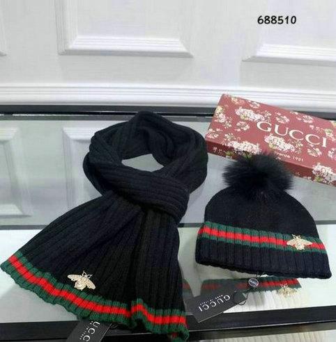 Wholesale Fashion GUCCI Women Hat Set-024