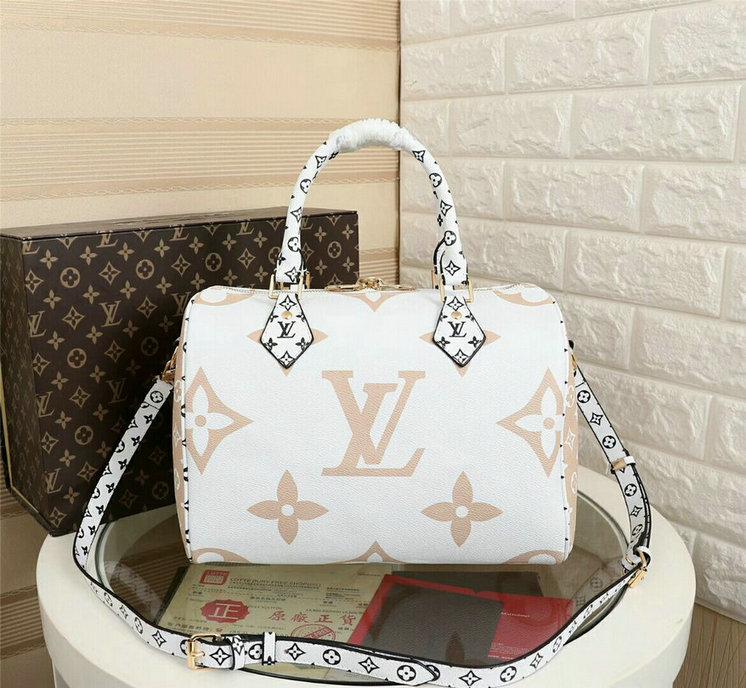 Wholesale Cheap Louis Vuitton Monogram Giant Speedy Bandouliere 30 bags for sale