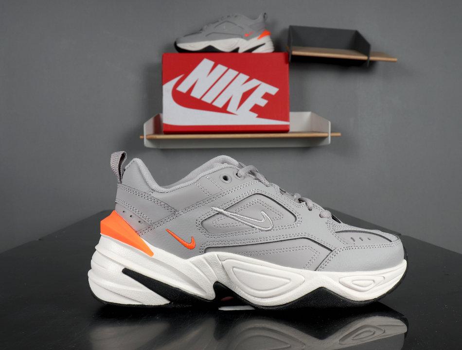 Nike M2K Tekno atmosphere grey,phantom,total orange AO3108-004