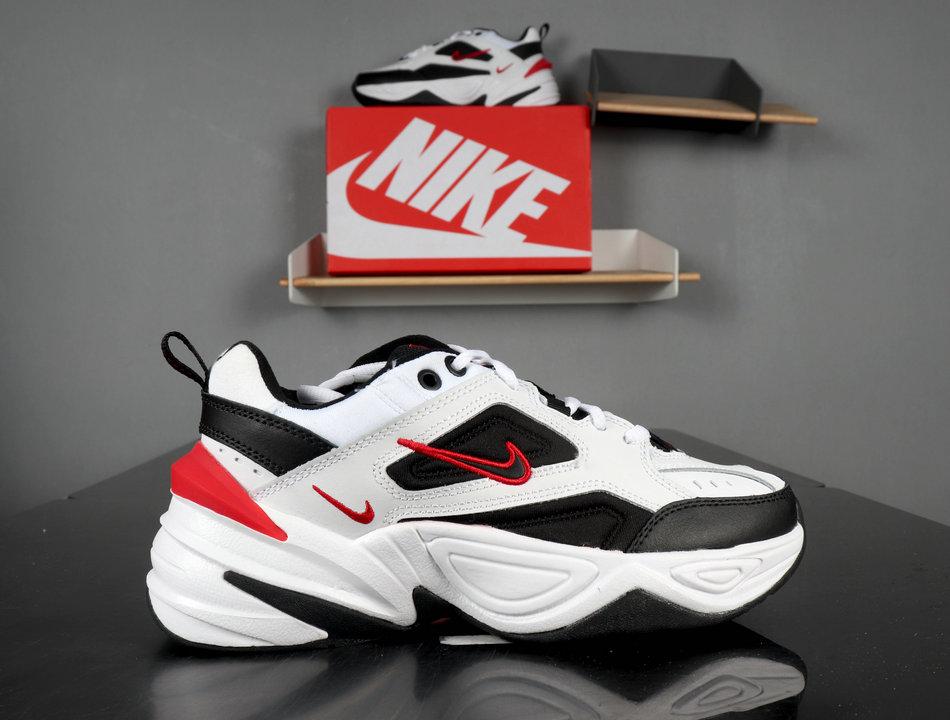 Nike M2K Tekno white Black red AO3108-004