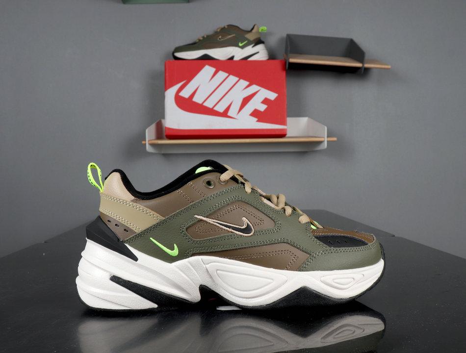Nike M2K Tekno Medium Olive/Black-Yukon Brown AO3108-201