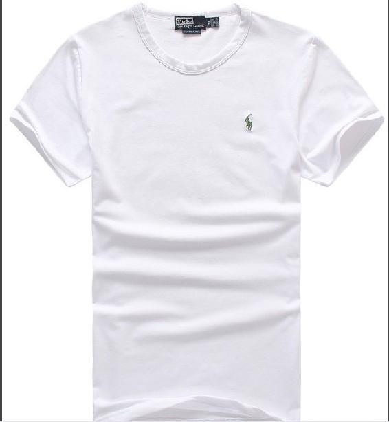 Wholesale Cheap Polo Men Short Sleeve Round Neck T Shirts Sale