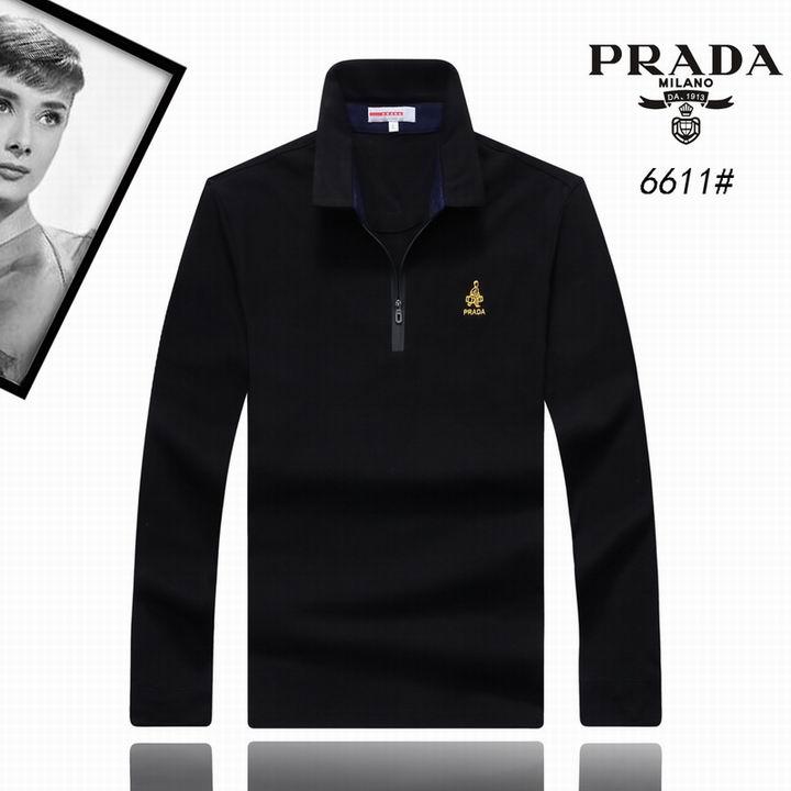 Wholesale Replica Prada Lapel T-Shirts-002