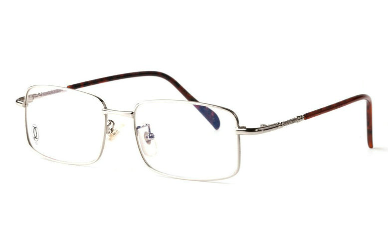 Wholesale Replica Cartier Full Rim Metal Eyeglasses Frame for Sale-011