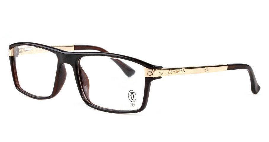 Wholesale Replica Cartier Full Rim Metal Eyeglasses Frame for Sale-039