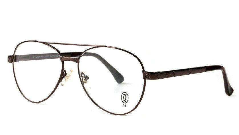 Wholesale Cheap Cartier Santos Eyeglass Frames Replica for Sale-008