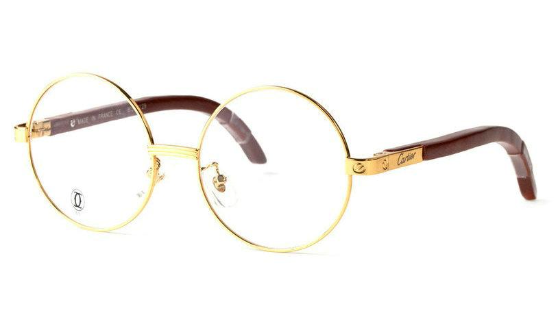 Wholesale Cheap Cartier Santos Eyeglass Frames Replica for Sale-018