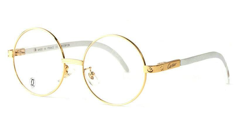 Wholesale Cheap Cartier Santos Eyeglass Frames Replica for Sale-019