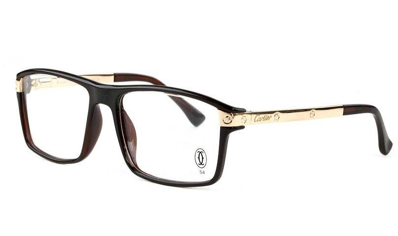 Wholesale Cheap Cartier Santos Eyeglass Frames Replica for Sale-022