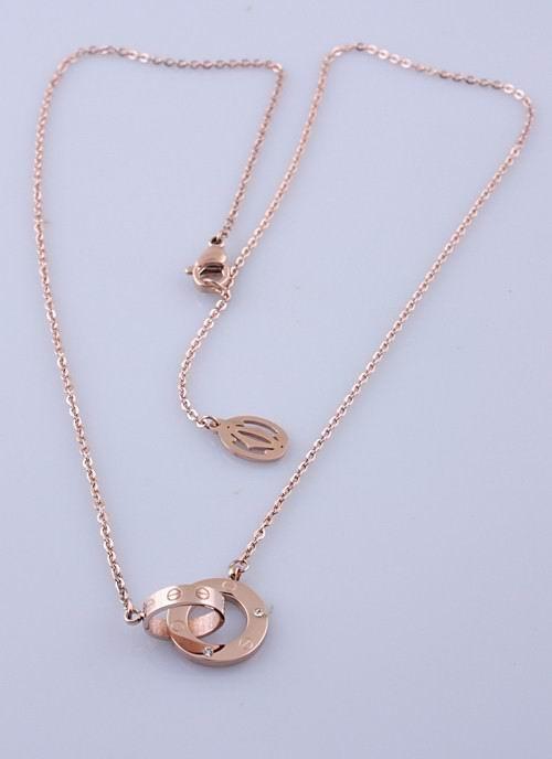 Wholesale Cheap Cartier Replica Necklace-052