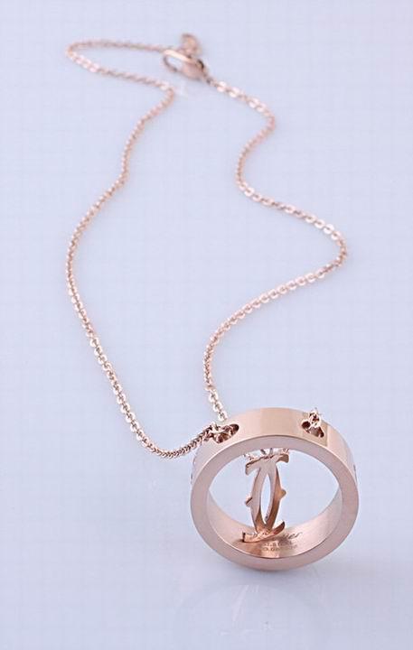 Wholesale Cheap Cartier Replica Necklace-053