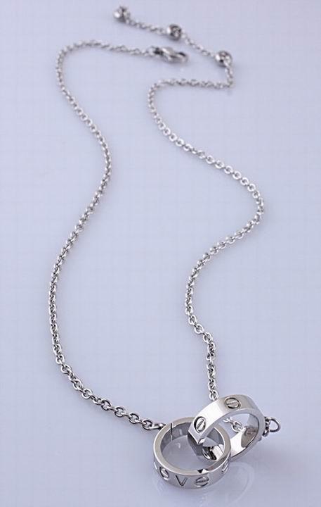 Wholesale Cheap Cartier Replica Necklace-054
