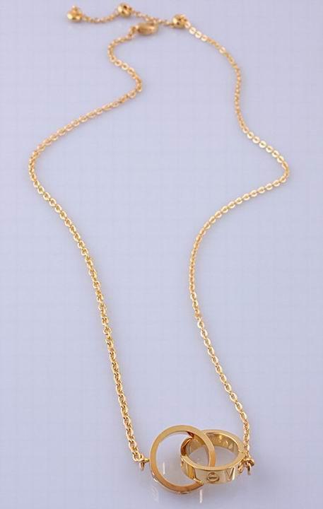 Wholesale Cheap Cartier Replica Necklace-055