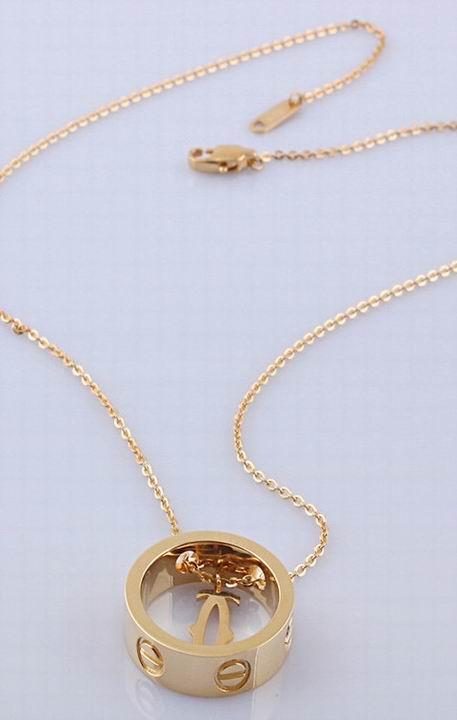 Wholesale Cheap Cartier Replica Necklace-057