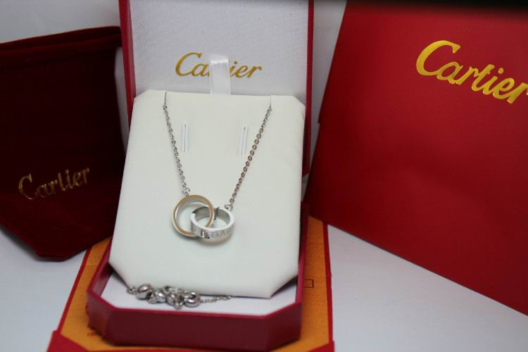 Wholesale Cheap Cartier Replica Necklace-060