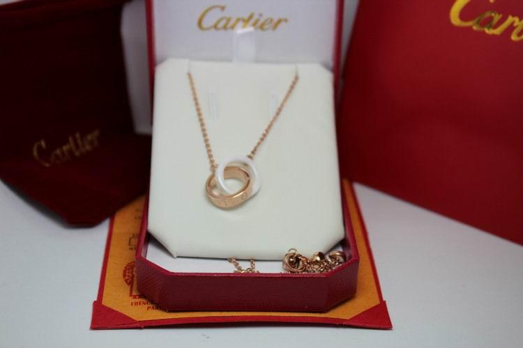 Wholesale Cheap Cartier Replica Necklace-062