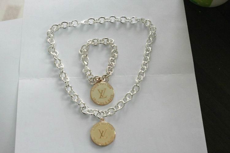 Wholesale LV Replica Jewelry Sets-018