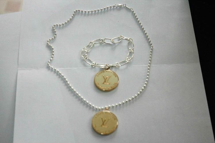 Wholesale LV Replica Jewelry Sets-019