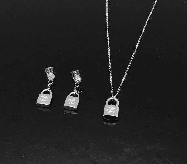 Wholesale LV Replica Jewelry Sets-022