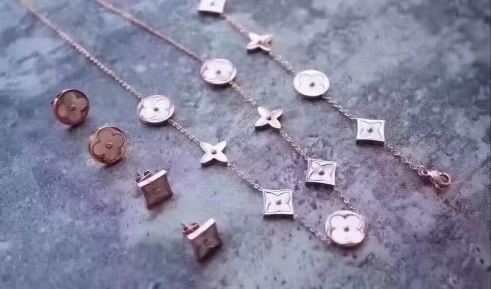 Wholesale LV Replica Jewelry Sets-036