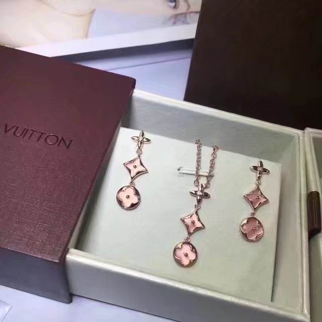 Wholesale LV Replica Jewelry Sets-038