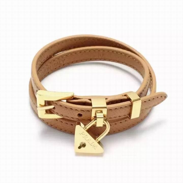 Wholesale Prada Leather Bracelet-004