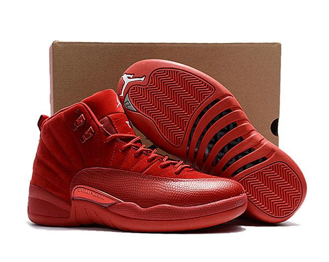 Wholesale Nike Mens Air Jordan XII 12 Retro Basketball Shoe-024
