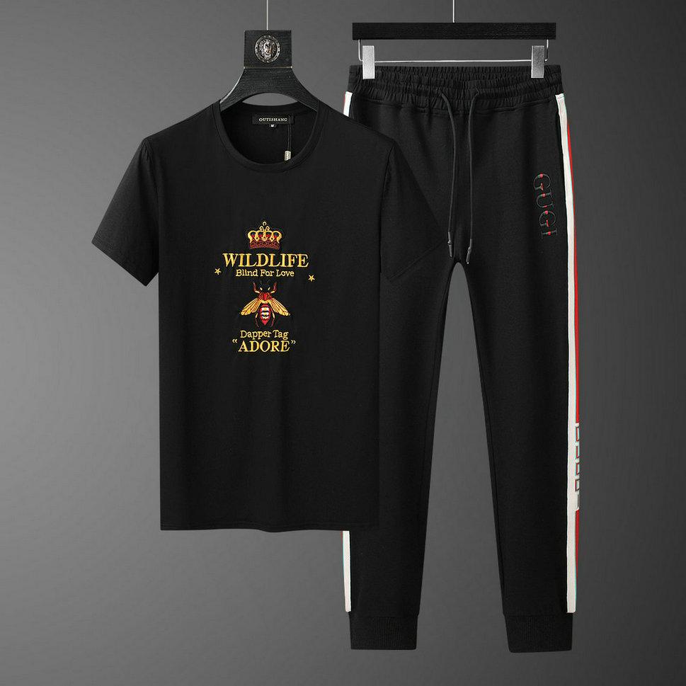 Wholesale Cheap Short Sleeve Tracksuit Mens for sale