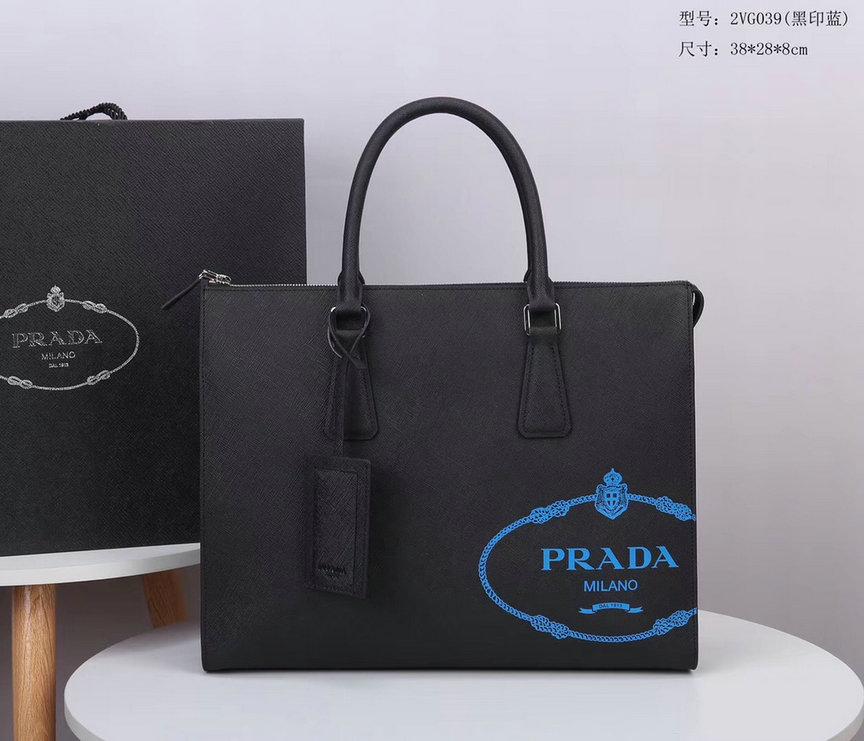 Wholesale Cheap Prada Briefcases Men's Bags for sale
