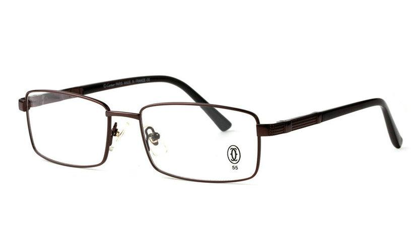 Wholesale Cheap Cartier Metal Memory Plastic Glasses Frames For Sale-019