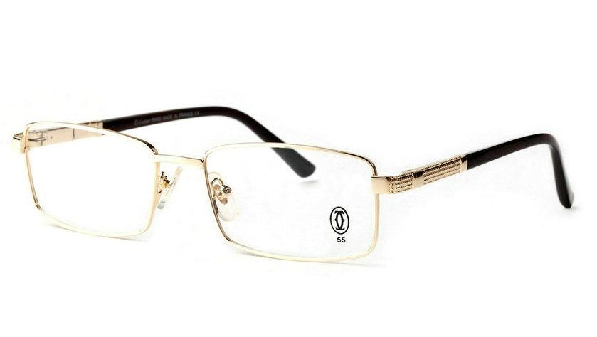 Wholesale Cheap Cartier Metal Memory Plastic Glasses Frames For Sale-021