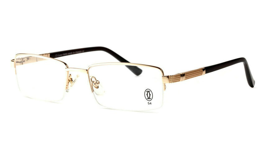 Wholesale Cheap Cartier Metal Memory Plastic Glasses Frames For Sale-022