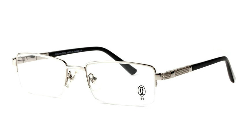 Wholesale Cheap Cartier Metal Memory Plastic Glasses Frames For Sale-028