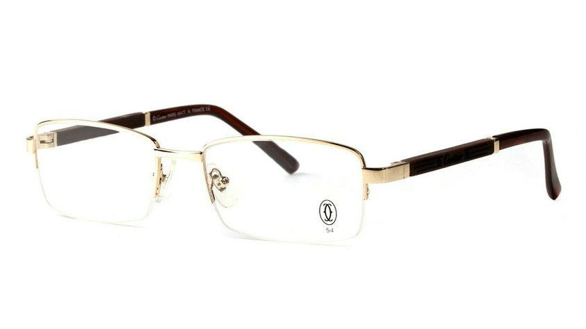 Wholesale Cheap Replica Cartier Metal Memory Plastic Glasses Frames For Sale-032