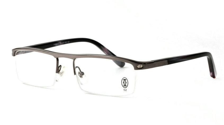 Wholesale Cheap Replica Cartier Metal Memory Plastic Glasses Frames For Sale-036