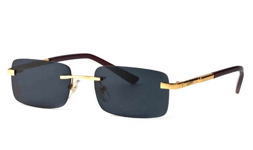 Wholesale Cheap Cartier Metal Memory Plastic Glasses Frames For Sale-038