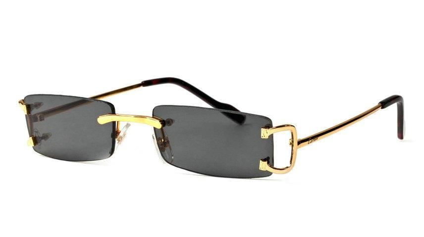 Wholesale Cheap Cartier Replica Rimless Glasses & Frames for Sale-010